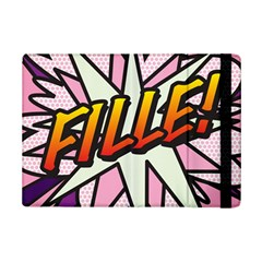 Comic Book Fille! Ipad Mini 2 Flip Cases by ComicBookPOP