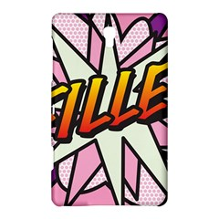 Comic Book Fille! Samsung Galaxy Tab S (8 4 ) Hardshell Case  by ComicBookPOP