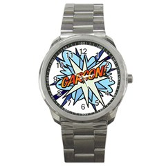 Comic Book Garcon! Sport Metal Watches by ComicBookPOP