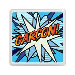 Comic Book Garcon! Memory Card Reader (square)  by ComicBookPOP