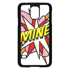 Comic Book Mine! Samsung Galaxy S5 Case (black) by ComicBookPOP