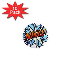 Comic Book Nino! 1  Mini Magnet (10 Pack)  by ComicBookPOP