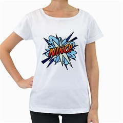 Comic Book Nino! Women s Loose Fit T Shirt (white) by ComicBookPOP