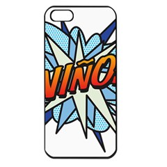 Comic Book Nino! Apple Iphone 5 Seamless Case (black) by ComicBookPOP