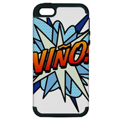 Comic Book Nino! Apple Iphone 5 Hardshell Case (pc+silicone) by ComicBookPOP