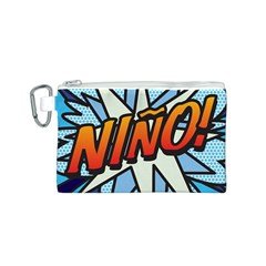 Comic Book Nino! Canvas Cosmetic Bag (s) by ComicBookPOP