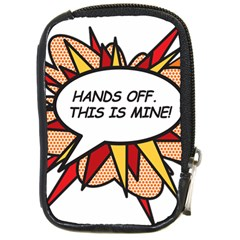Hands Off Compact Camera Cases by ComicBookPOP