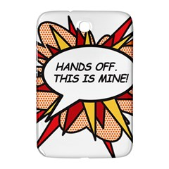 Hands Off Samsung Galaxy Note 8 0 N5100 Hardshell Case  by ComicBookPOP