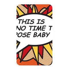 Comic Book This Is No Time To Pose Baby Memory Card Reader by ComicBookPOP