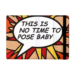 Comic Book This Is No Time To Pose Baby Ipad Mini 2 Flip Cases by ComicBookPOP