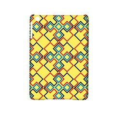 Shapes on a yellow background Apple iPad Mini 2 Hardshell Case by LalyLauraFLM