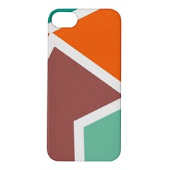 Misc Shapes In Retro Colors Apple Iphone 5s Hardshell Case by LalyLauraFLM