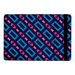 Rectangles And Other Shapes Pattern	samsung Galaxy Tab Pro 10 1  Flip Case by LalyLauraFLM