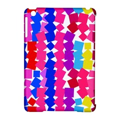 Colorful Squares Apple Ipad Mini Hardshell Case (compatible With Smart Cover) by LalyLauraFLM