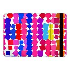 Colorful Squaressamsung Galaxy Tab Pro 10 1  Flip Case by LalyLauraFLM