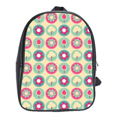 Chic Floral Pattern School Bags (xl)  by creativemom
