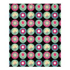Chic Floral Pattern Shower Curtain 60  X 72  (medium)