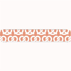 Salmon Pretzel Illustrations Pattern Small Bar Mats by creativemom