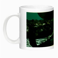 Submarine With Orca Night Luminous Mugs by FantasyWorld7