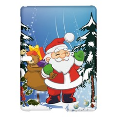 Funny Santa Claus In The Forrest Samsung Galaxy Tab S (10 5 ) Hardshell Case