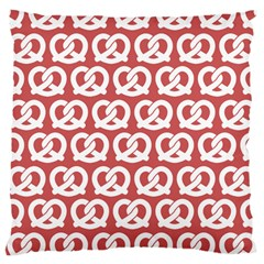 Trendy Pretzel Illustrations Pattern Large Cushion Cases (two Sides)  by creativemom