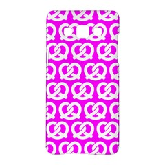Pink Pretzel Illustrations Pattern Samsung Galaxy A5 Hardshell Case  by creativemom