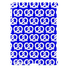 Blue Pretzel Illustrations Pattern Apple Ipad 3/4 Hardshell Case (compatible With Smart Cover) by creativemom