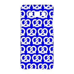 Blue Pretzel Illustrations Pattern Samsung Galaxy A5 Hardshell Case  by creativemom