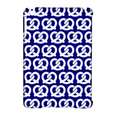 Navy Pretzel Illustrations Pattern Apple Ipad Mini Hardshell Case (compatible With Smart Cover) by creativemom