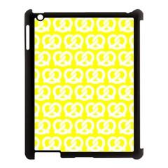 Yellow Pretzel Illustrations Pattern Apple Ipad 3/4 Case (black) by creativemom