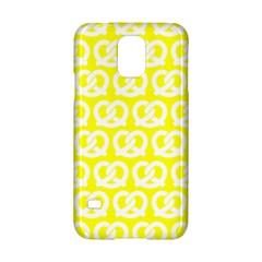Yellow Pretzel Illustrations Pattern Samsung Galaxy S5 Hardshell Case  by creativemom