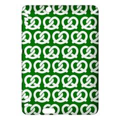 Green Pretzel Illustrations Pattern Kindle Fire Hdx Hardshell Case by creativemom