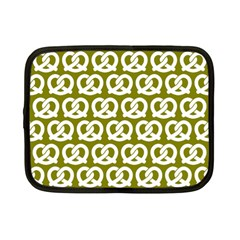 Olive Pretzel Illustrations Pattern Netbook Case (small)  by creativemom
