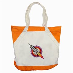 Space Rocket Accent Tote Bag  by theimagezone