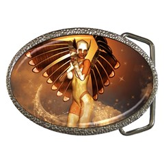 Beautiful Angel In The Sky Belt Buckles by FantasyWorld7