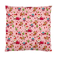 Red Christmas Pattern Standard Cushion Case (one Side)  by KirstenStar