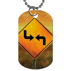 Direction Dog Tag (one Side) by theimagezone