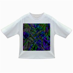 Colorful Abstract Stained Glass G301 Infant/toddler T Shirts by MedusArt