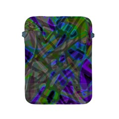 Colorful Abstract Stained Glass G301 Apple Ipad 2/3/4 Protective Soft Cases by MedusArt