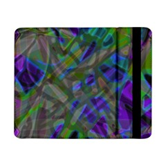 Colorful Abstract Stained Glass G301 Samsung Galaxy Tab Pro 8 4  Flip Case by MedusArt