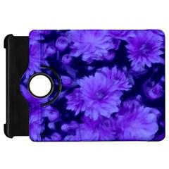 Phenomenal Blossoms Blue Kindle Fire Hd Flip 360 Case by MoreColorsinLife