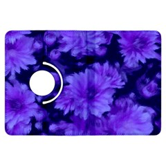 Phenomenal Blossoms Blue Kindle Fire Hdx Flip 360 Case by MoreColorsinLife