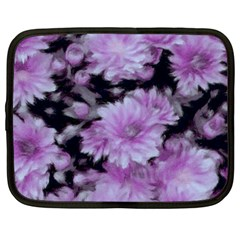 Phenomenal Blossoms Lilac Netbook Case (large)	 by MoreColorsinLife