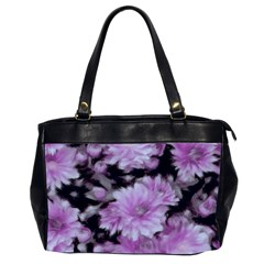 Phenomenal Blossoms Lilac Office Handbags (2 Sides)  by MoreColorsinLife