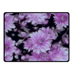 Phenomenal Blossoms Lilac Fleece Blanket (small) by MoreColorsinLife