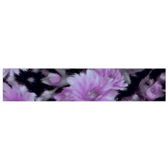 Phenomenal Blossoms Lilac Flano Scarf (Small)  by MoreColorsinLife