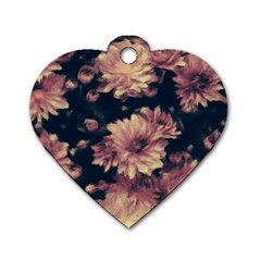 Phenomenal Blossoms Soft Dog Tag Heart (one Side) by MoreColorsinLife
