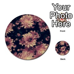 Phenomenal Blossoms Soft Multi Purpose Cards (round)