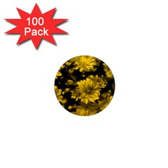 Phenomenal Blossoms Yellow 1  Mini Magnets (100 Pack)  by MoreColorsinLife
