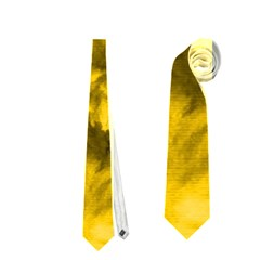 Phenomenal Blossoms Yellow Neckties (one Side)